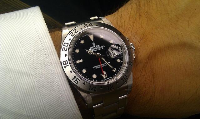 Rolex Explorer II Nero