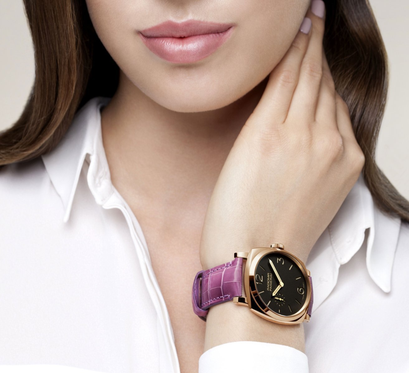 Ladies wrist strap watches